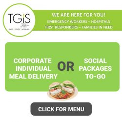 corporate lunch catering social to-go packages
